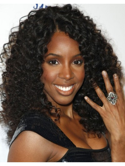 Straight Hairstyle Price Naomi Campbell Curly Hairstyle Wig With Blunt Bangs Afro