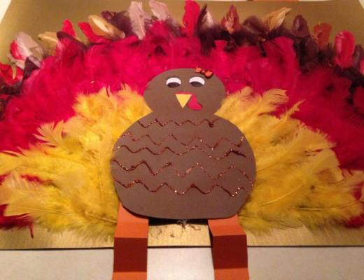 Tina the Turkey - Possible on of the best homemade Thanksgiving decorations ever!