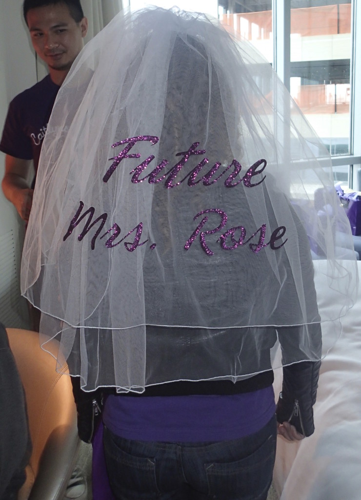 Personalized Bachelorette Veil