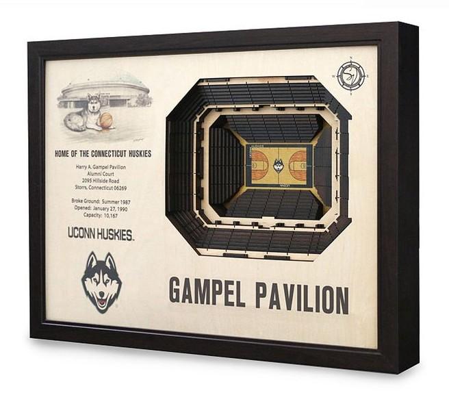 Gampel Pavilion Art