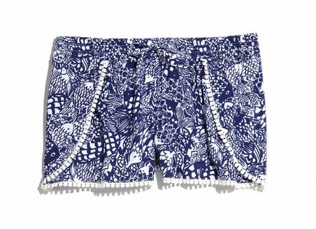 Lilly for Target Upstream Pompom Shorts
