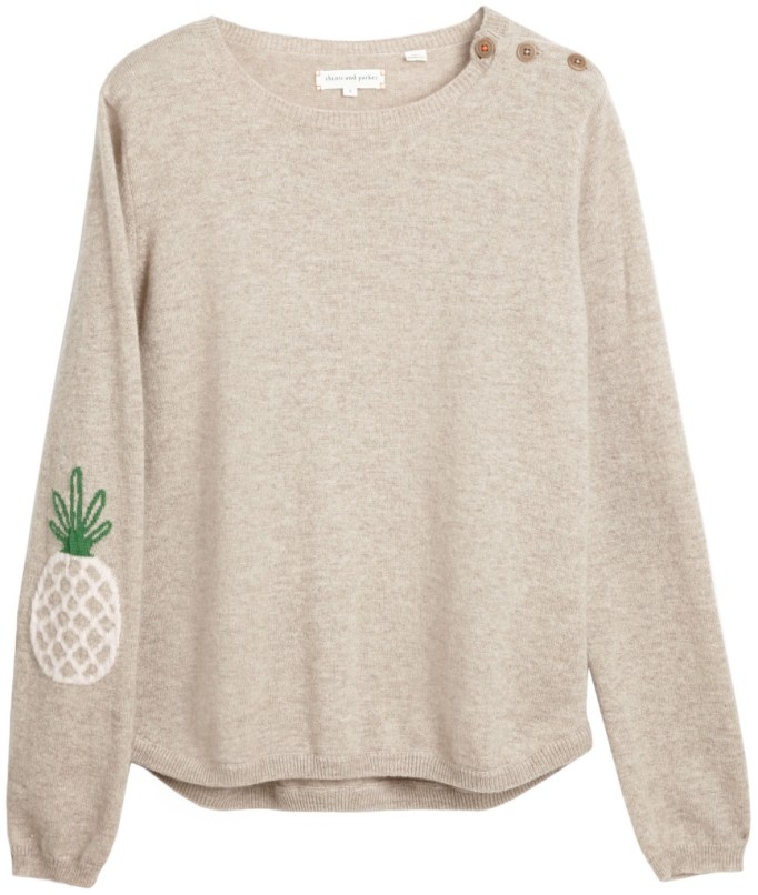 Chinti & Parker Pineapple Sweater