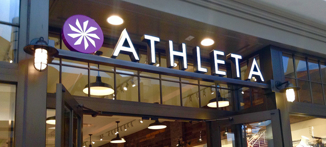 Did you know that Athleta offers free workout classes? My room mate and I just discovered the leg-toning torture that is Barre.
