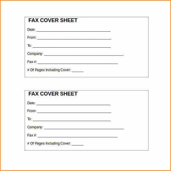generic fax cover sheet microsoft word