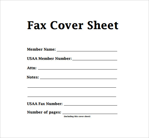 Printable Fax Cover Sheet Free^^ Fax Cover Sheet Template