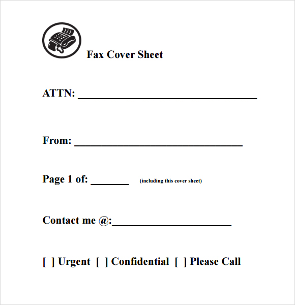 Standard Fax Cover Sheet Templates Free^^ Fax Cover Sheet Template - fax cover sheet templates