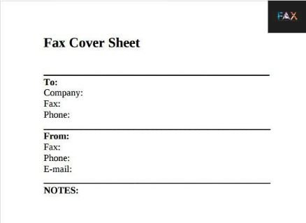 41 Free Printable Fax Cover Sheet Template Pdf That You Love It