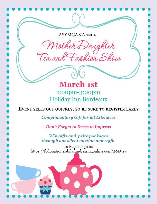 Mother Daughter Tea Fashion Show on March 1st FayToday