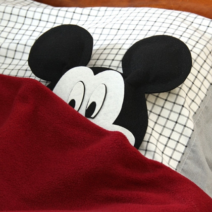 mickey pillow