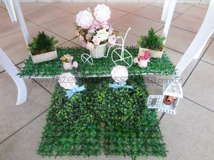 Artes Da Leitora Gracielle Oliveira !~ Decoracao Jardim Encantado Rustico