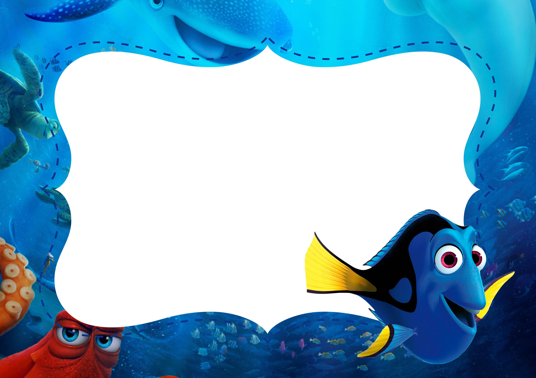 Free Printable Finding Nemo Birthday Invitations - Ivoiregion