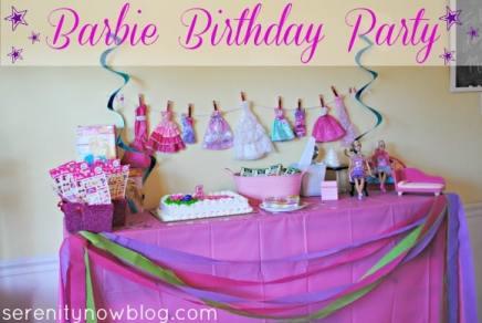 fazer uma festa da barbie