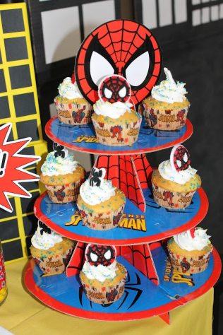 festa Homem-Aranha simples e barata