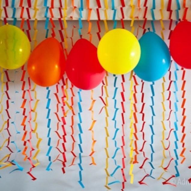 Decoração de aniversário fácil e barata