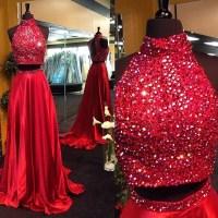 Two Pieces Prom Dresses,2 Piece Prom Dresses, 2016 Prom ...