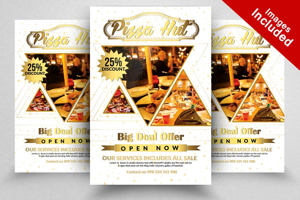 Restaurant Promotion Flyer Template by Design Bundles - promotion flyer