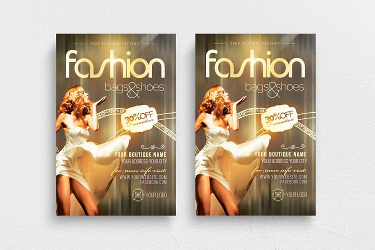Fashion New Collection Photoshop Flyer Template