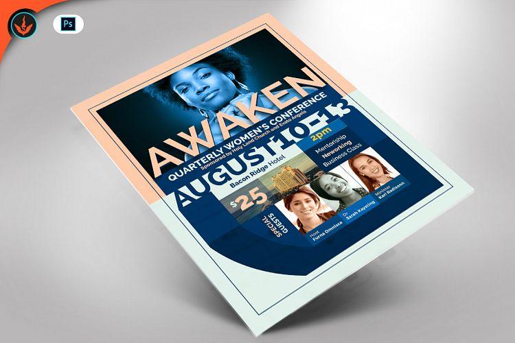 Awaken Women\u0027s Conference Flyer Template