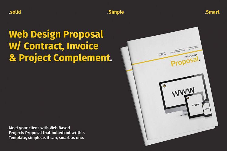 Web Design Proposal W/ Complement by Bi Design Bundles - design proposal