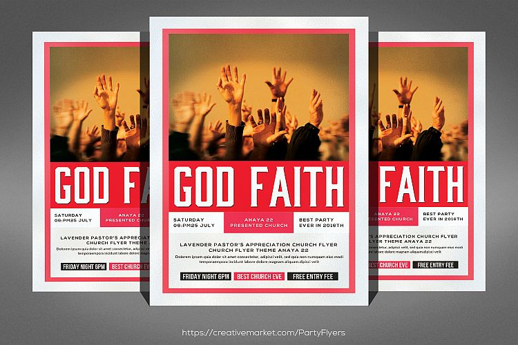 Faith Marketing Flyer