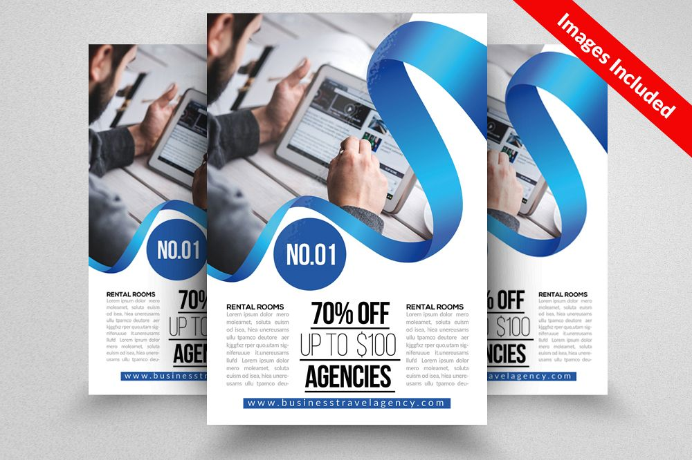 Business Training Flyers Template