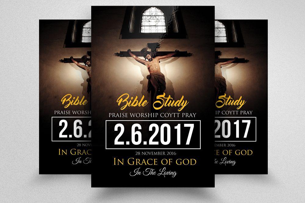 Jesus Church Flyer Templates
