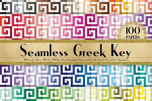 Medium Of Greek Key Pattern