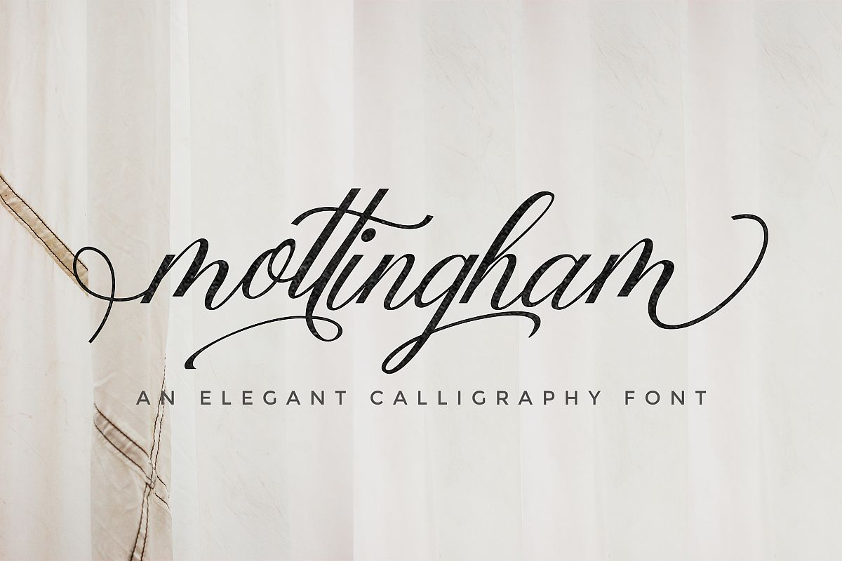 Copperplate Calligraphy Font Free Mottingham Elegant Calligraphy Typeface