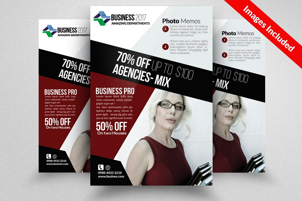 Insurance Consulting Flyer Templates by Design Bundles - insurance flyer templates