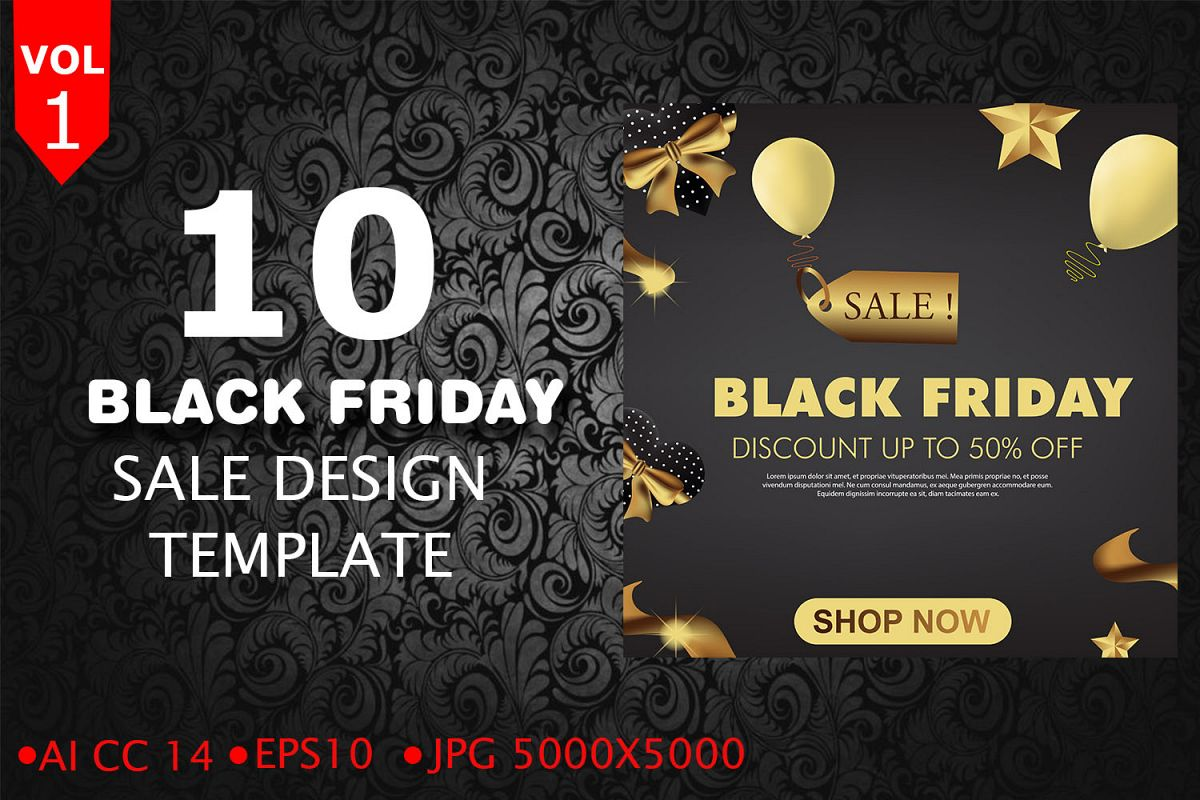 Sale Black Friday Black Friday Sale Template