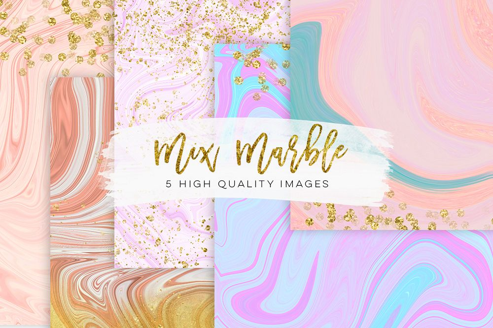 Rose Gold Wallpaper With Quotes Pastel Watercolor Marble Modern Marble Wedding Gold
