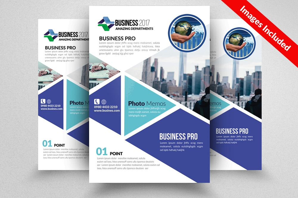 Auditing Firm Flyer Template