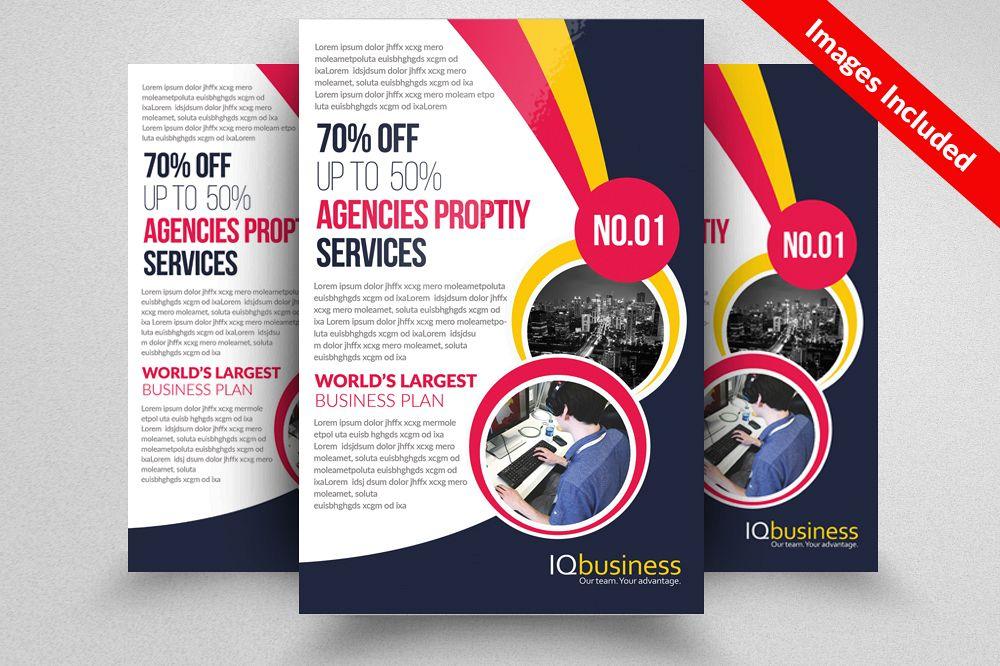 Adult Education  Business School Flyer