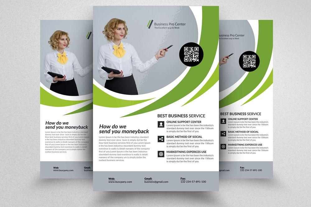 Utility  Energy Company Flyer templates