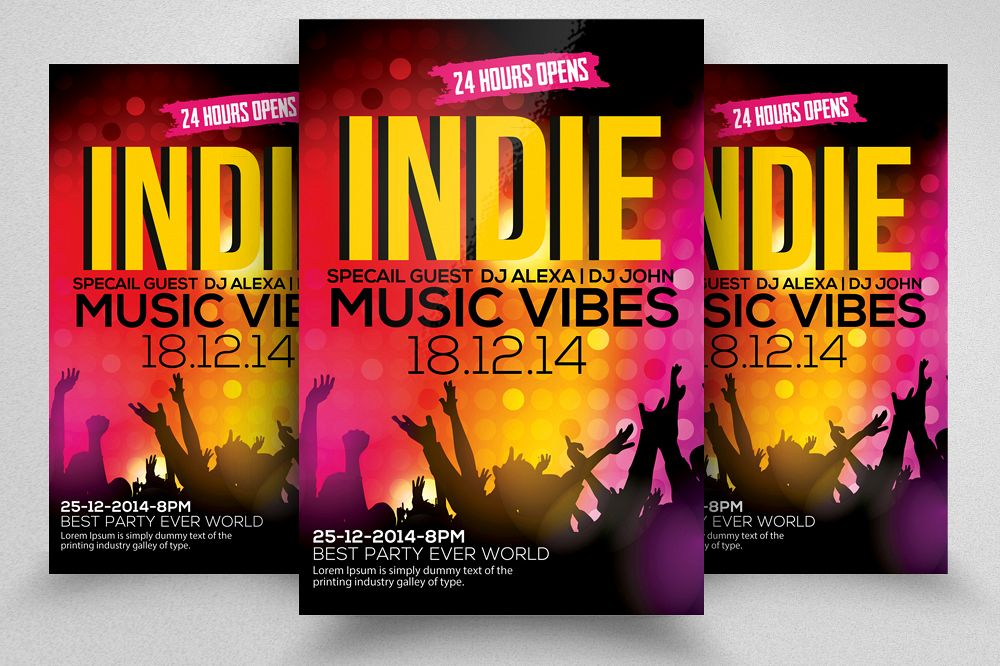 Music Flyer Template 09