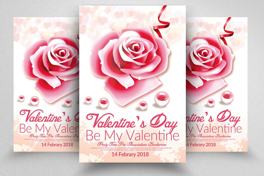 Valentine\u0027s Day Flyer Template