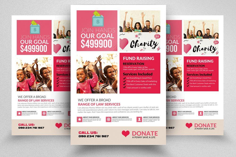 Charity  Fund Raising Flyer