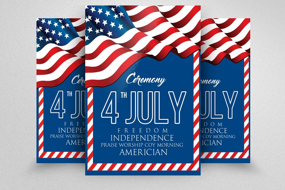 American Independence Day Flyer