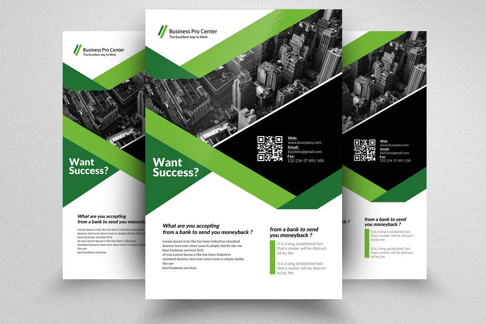 Business Training Flyer Temlates