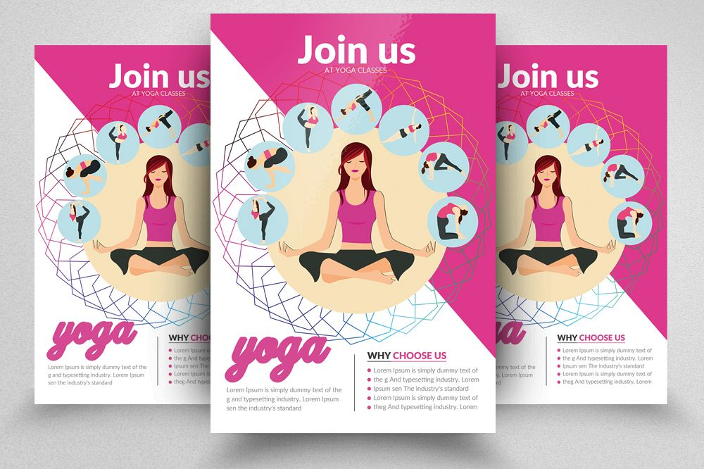 Yoga Flyer Template 08
