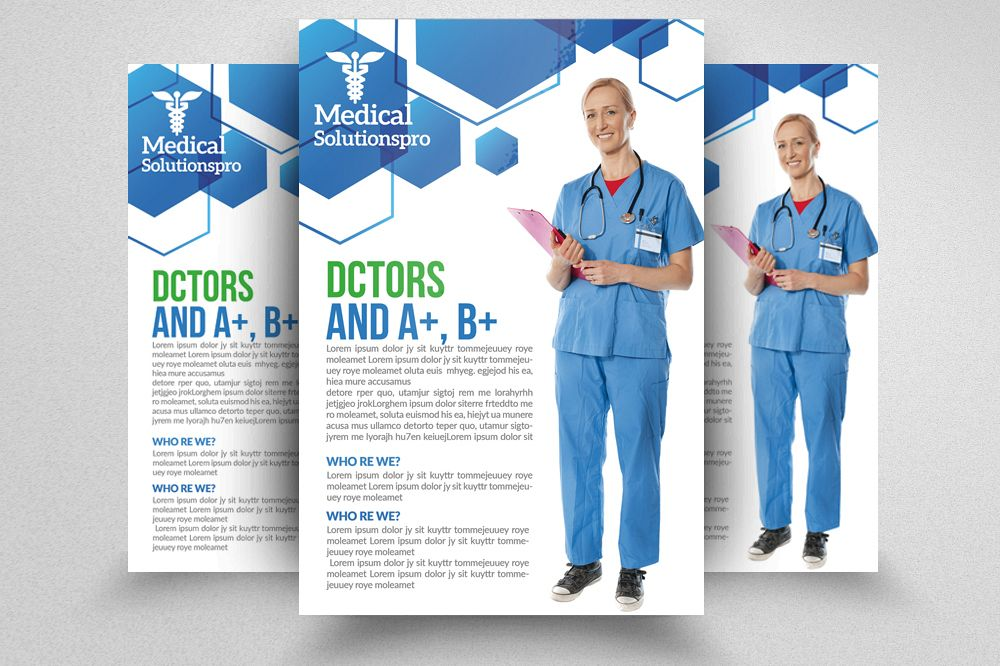 Medical Flyer Template Psd by Designhub Design Bundles