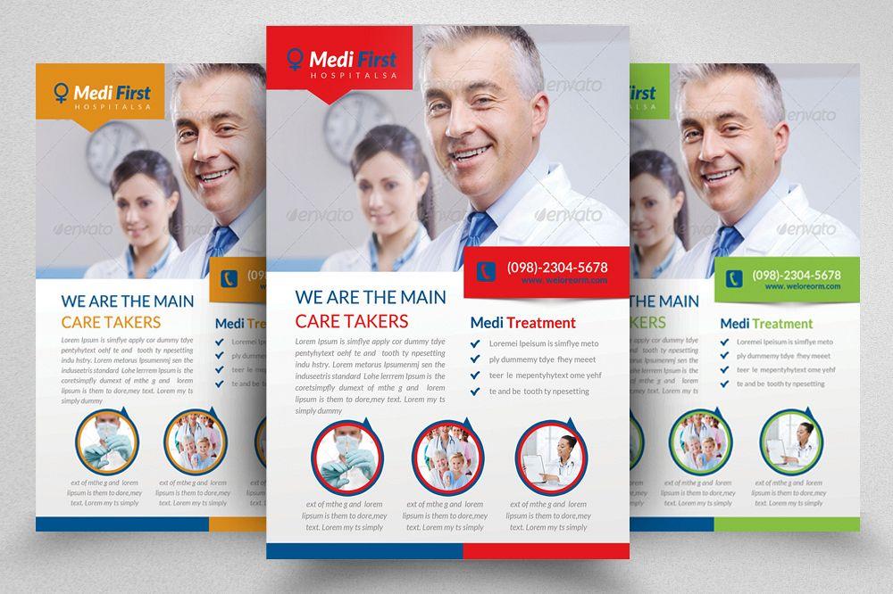 Medical Flyer Template Psd