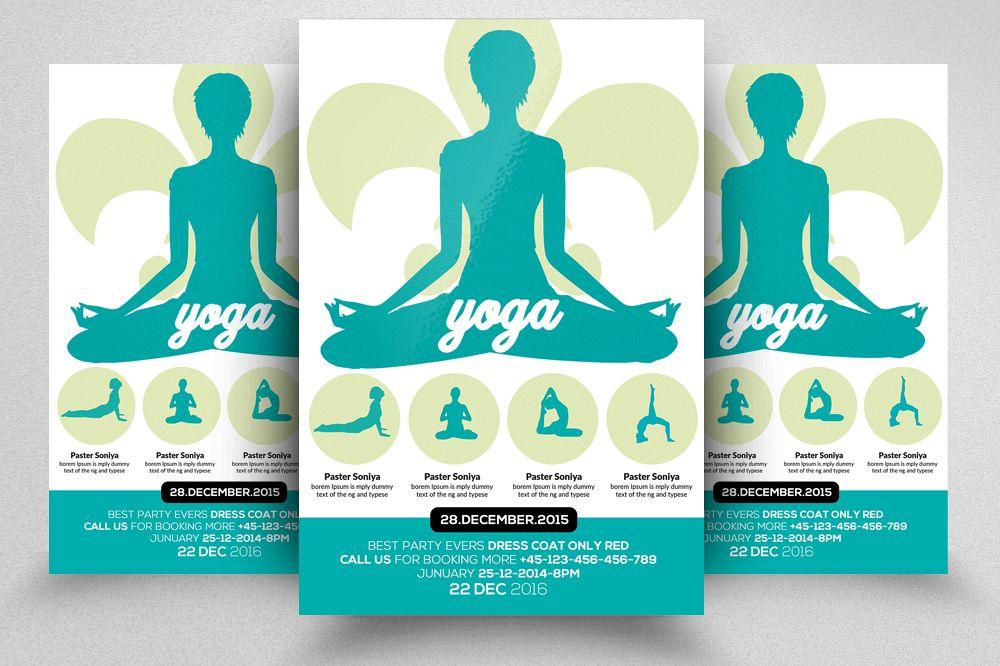 Yoga Flyer Template 03