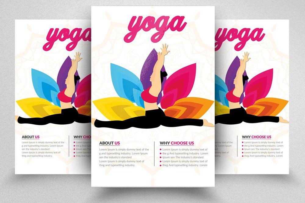 Yoga Flyer Template 07