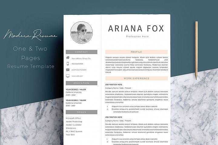 Resume Templates Design Bundles