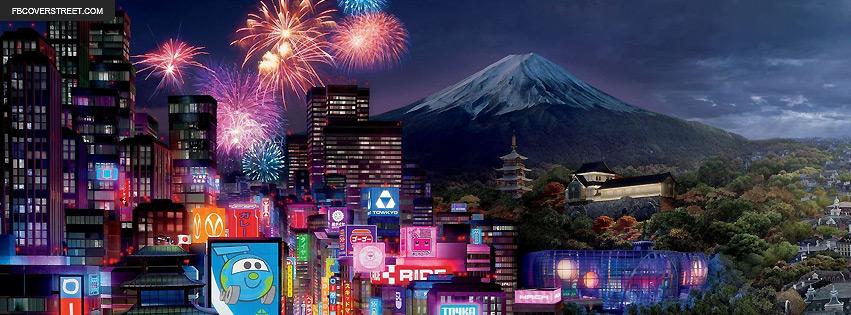 Black Wallpaper Tokyo Japan Fireworks Display Facebook Cover