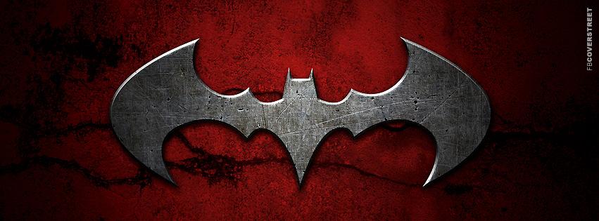 Black Design Wallpaper Batman Dark Red Logo Facebook Cover Fbcoverstreet Com