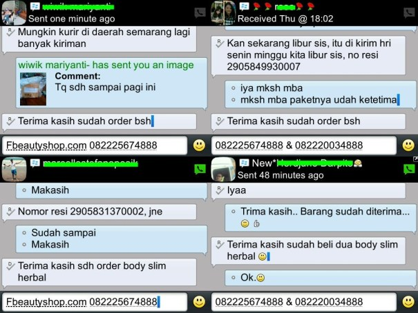 testimoni Body slim Herbal 1