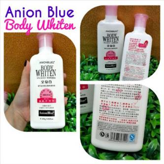 lotion pemutih badan anion