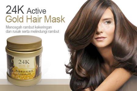 24K Active Gold Hair Mask